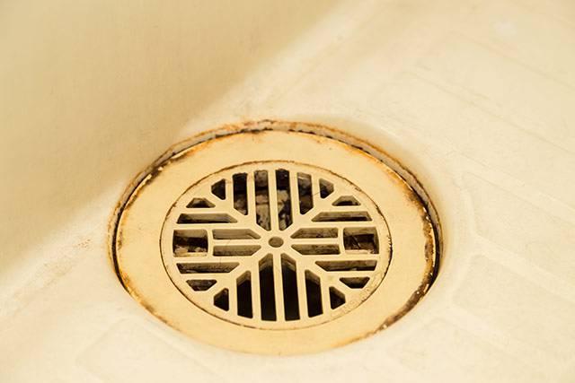 トラップが原因で排水口から臭うケース