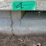 壁・基礎のひび割れ(クラック)