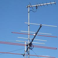 テレビアンテナ番線の張り直し・撤去