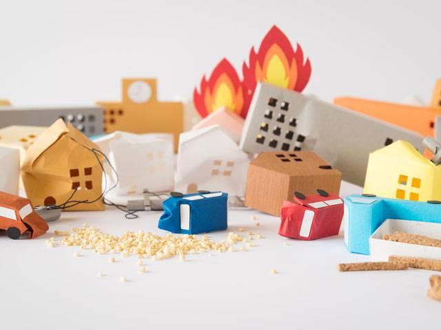 1.地震の後に発生するのは火災、と心得る