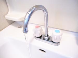 混合水栓 ツーホールタイプ/ツーバルブ