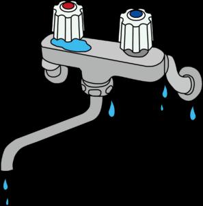 蛇口 ツーバルブタイプの水漏れ箇所