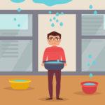 家の寿命が縮まる!雨漏りは放置せずすぐに修理しよう