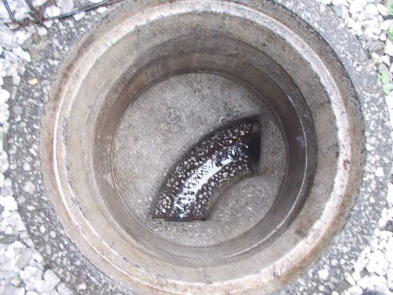 排水枡内側モルタル補修