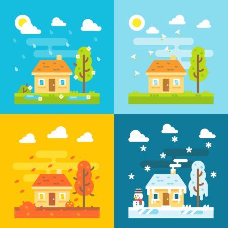季節の画像
