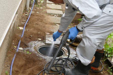 排水枡掃除