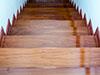 階段の滑り止め施工