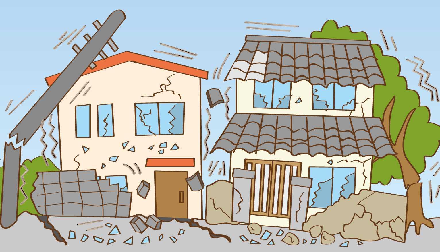 Нарисовать землетрясение карандашом картинки