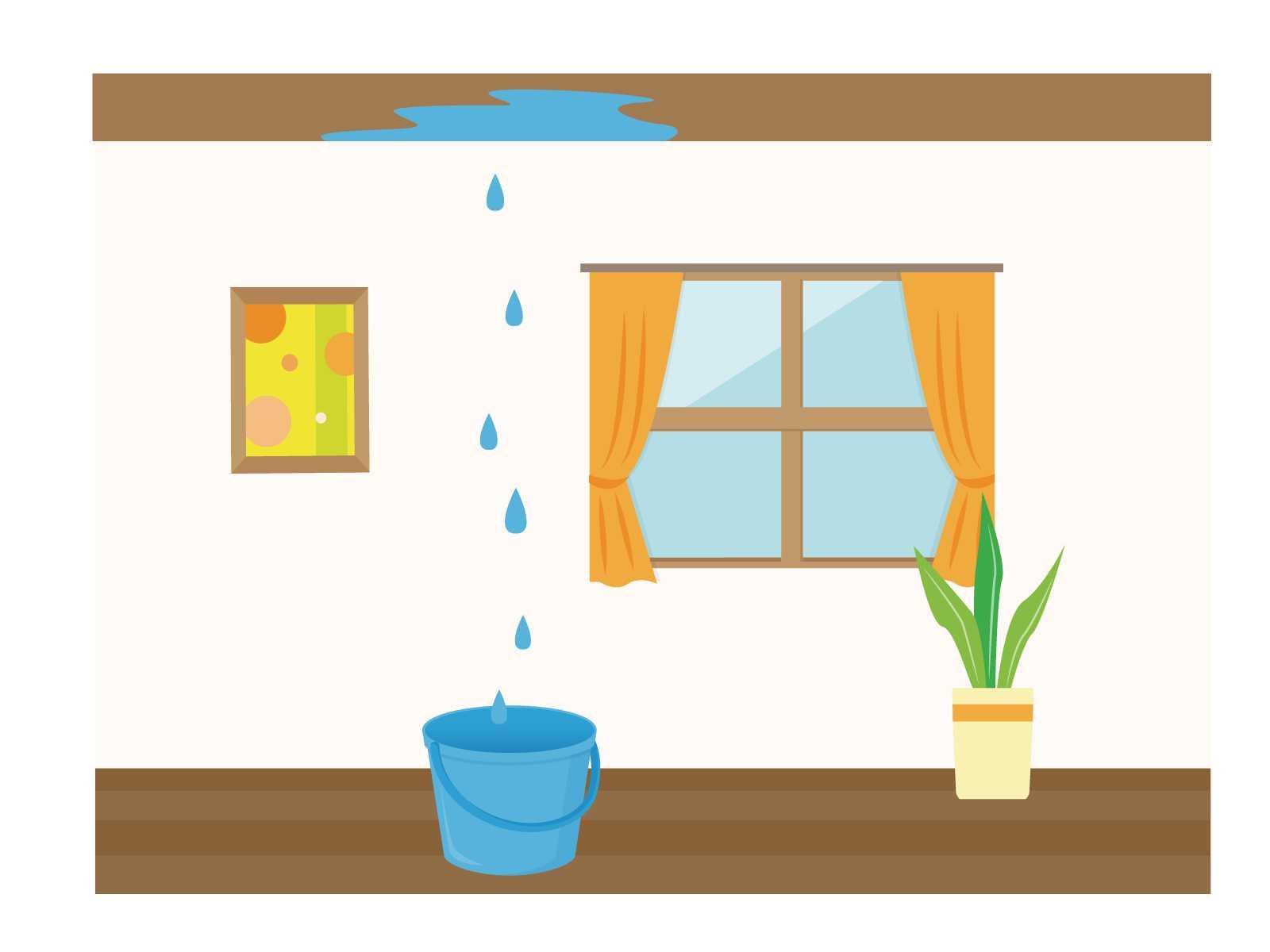 雨漏りの原因を知ろう!原因に合った対策と弊害について