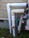 水道管凍結防止策(保温テープ巻き付けなど)