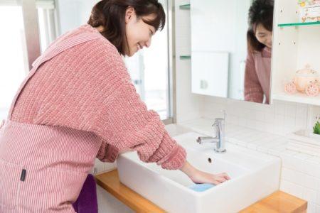 洗面台掃除2