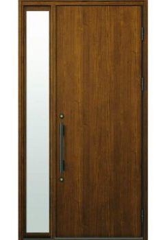 袖付き片開きドア