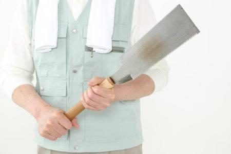 工具を持った人