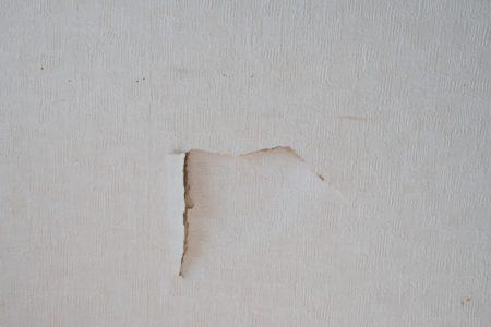 直すべき壁の穴
