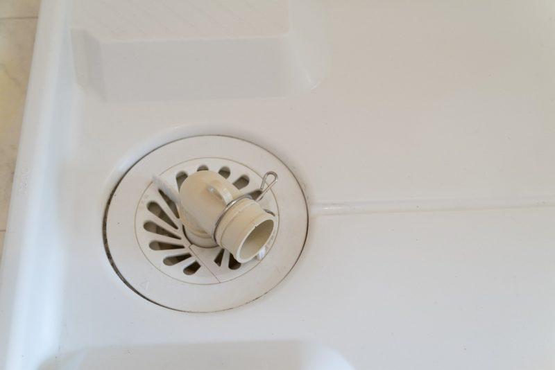 洗濯機 排水口