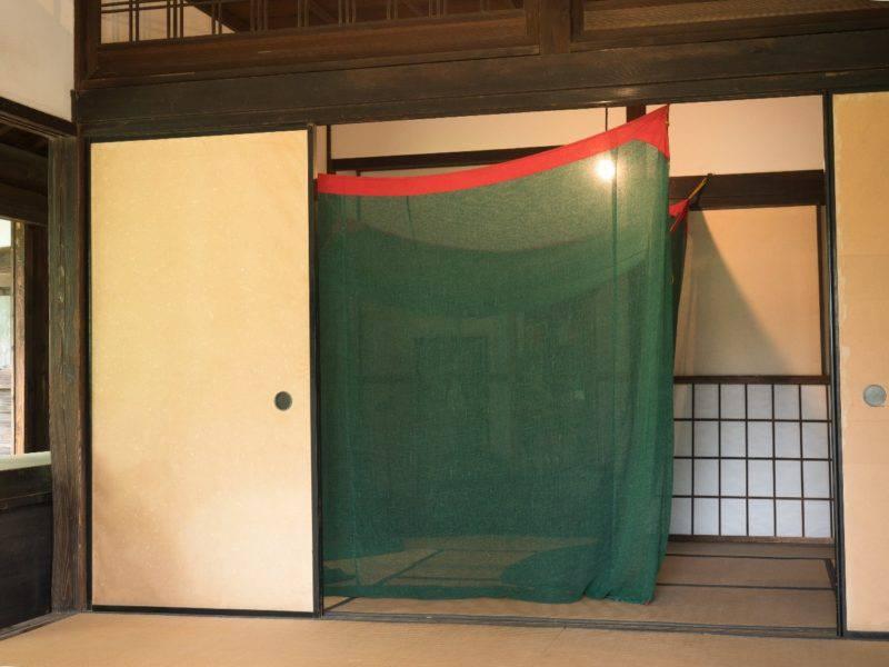 蚊帳 日本家屋
