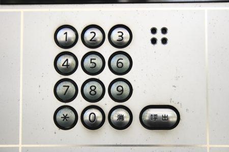 暗証番号インターホン