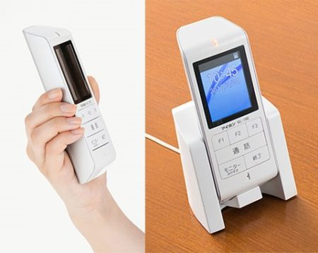 ワイヤレス テレビドアホン型