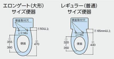 便器サイズ計測