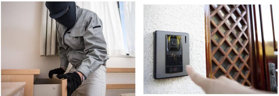 インターホンでできる防犯|インターホンが監視カメラになる?