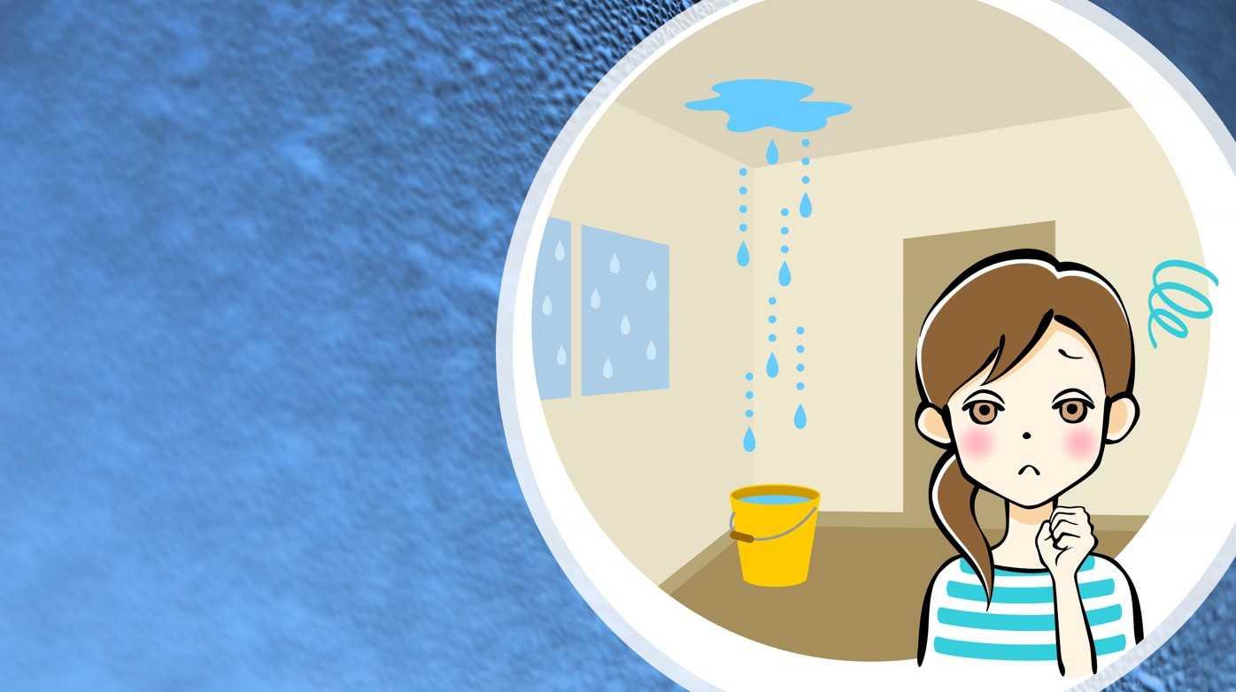 雨漏りor結露…違いは発生時期と場所にあった!?それぞれの対処方法