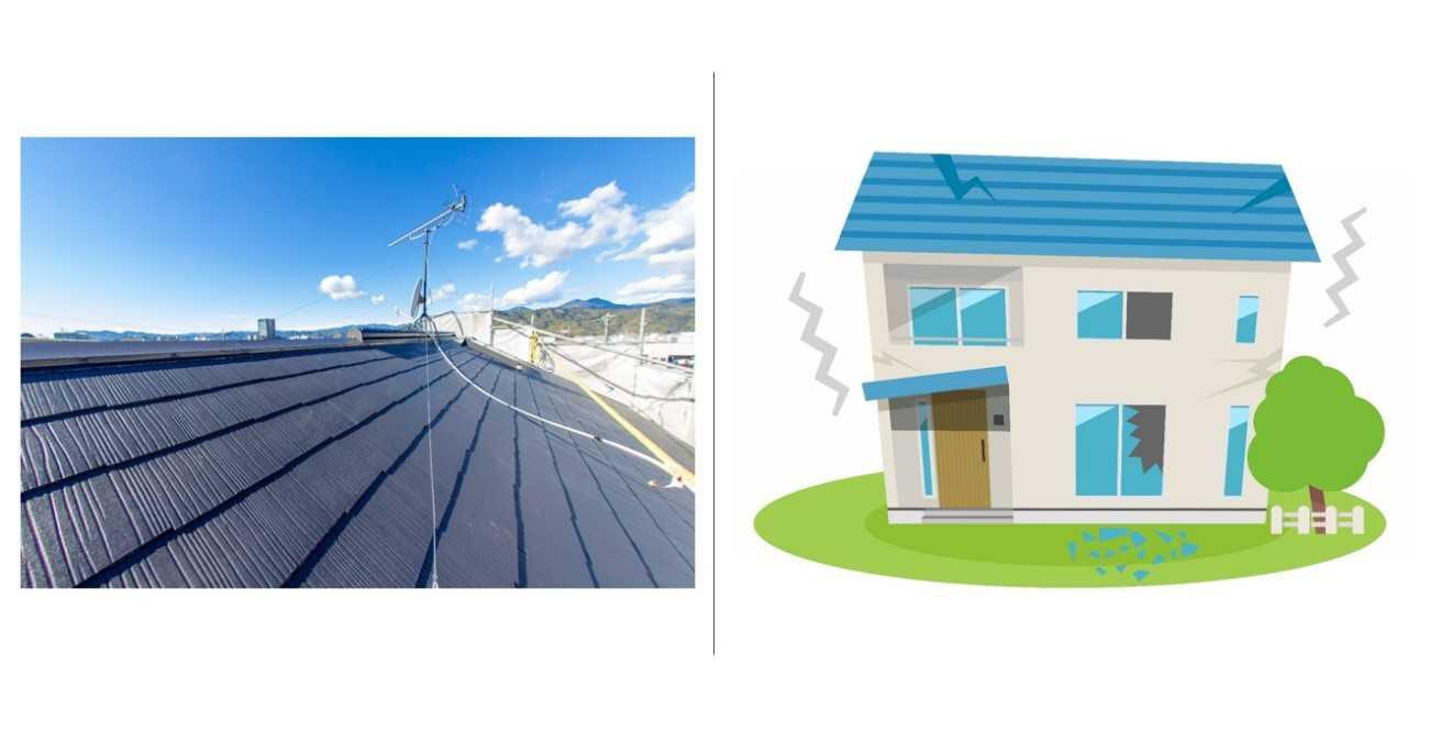 瓦屋根の耐震性を他の屋根材と比較!屋根材の重さだけが耐震有利と言えない?