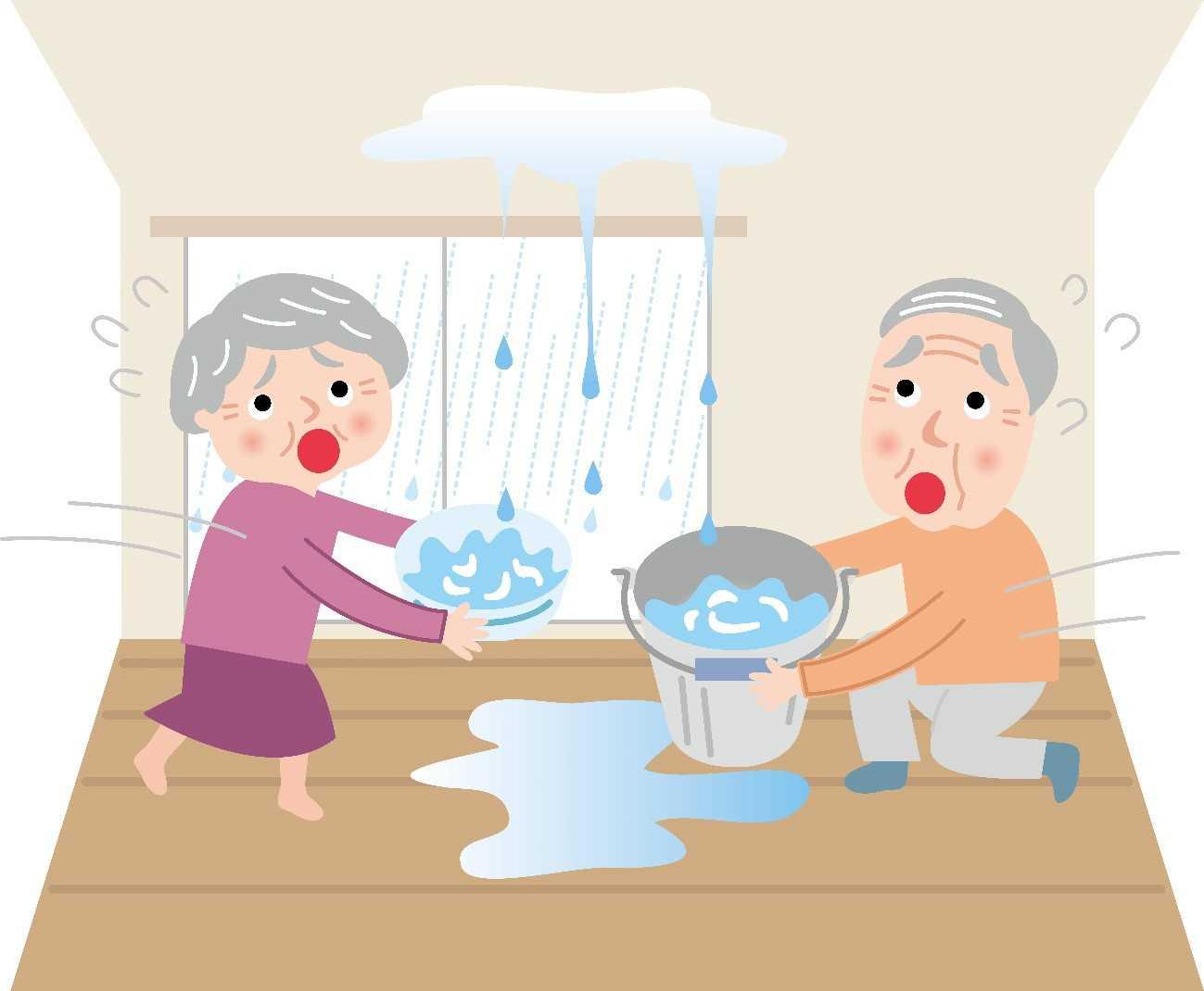 雨漏りの症状チェック7点|原因は屋根だけでなく水道管からも!?