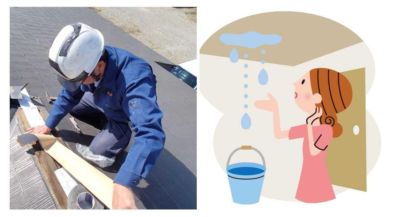雨漏り修理は業者選びが大切|この6つに注目して悪徳業者を回避!