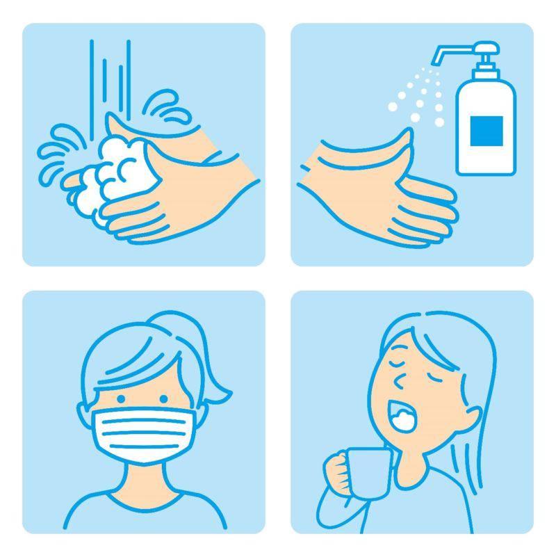感染症予防イラスト