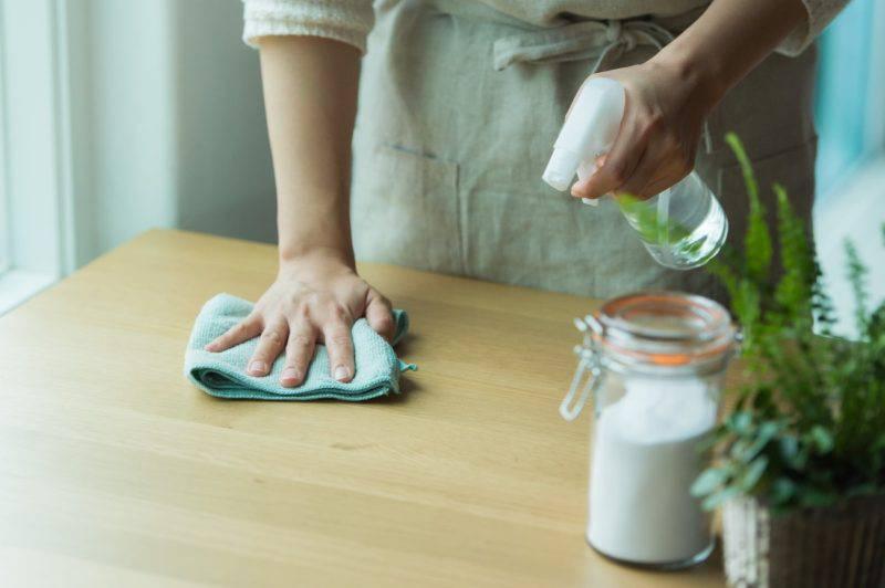 除菌清掃エプロン女性