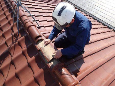 屋根葺き職人