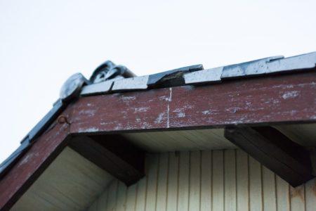 破損屋根瓦